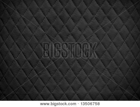 Schwarzes Leder-Hintergrund
