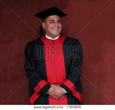 Graduado feliz