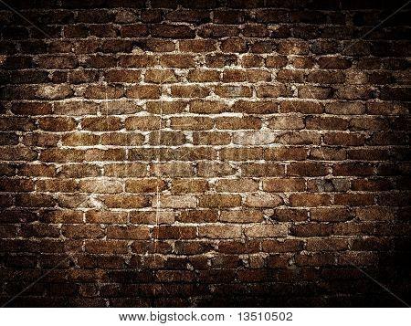 Grunge-Ziegel-Wand-Hintergrund