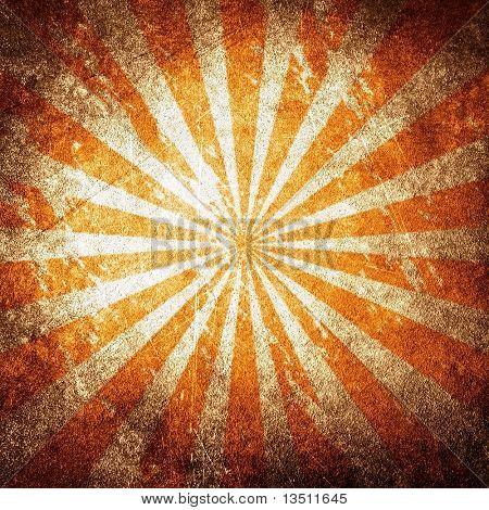 vintage rays pattern background