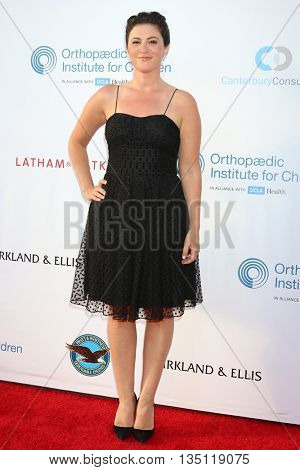 LOS ANGELES - JUN 18: Gina Field at the Stand For Kids Gala at the Twentieth Century Fox Studios Lot on  ,  June 18, 2016 in Century City, CA