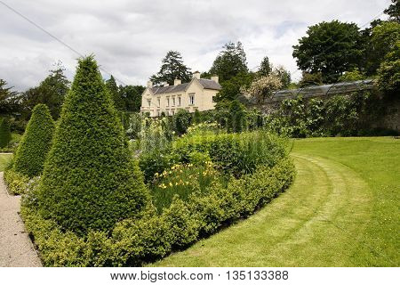 Aberglasney House and Gardens Llangathen Camarthenshire West Wales UK