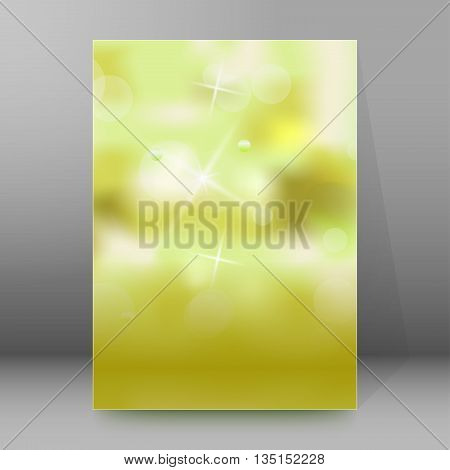 Brochure Cover Template Vertical Format Glowing Background19