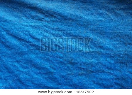 blue canvas background