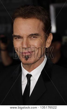 Billy Bob Thornton at the Los Angeles premiere of 'Faster' held at the Grauman's Chinese Theater in Hollywood, USA on November 22, 2010.