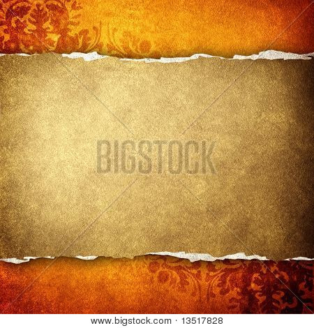 Jahrgang Banner-Hintergrund