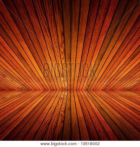perspective of wood background