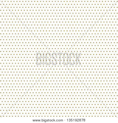 Seamless geometric modern pattern. Fine ornament with dotted golden elements