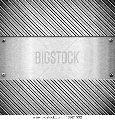 polished metal template