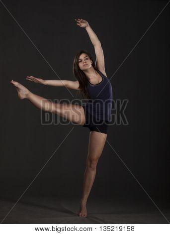 Young Beautiful Dancer
