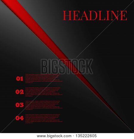 Background Modern Line Design For Text And Message Website Design Vector Vector Eps 10