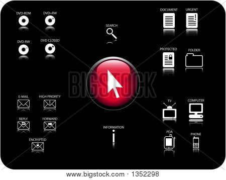 Vector 3D Icons