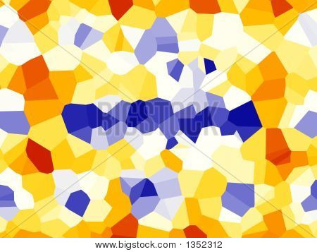 Colorful Mosaic Background - Abstract Illustration