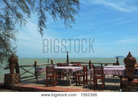 Dining Table By The Beach