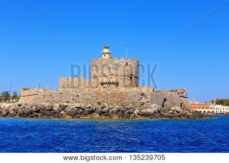 Fort Saint Nicolas Rhodes, Summer in Greece