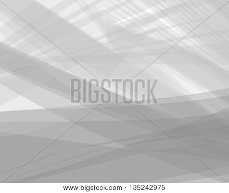 Monochrome white abstract vector background gray transparent wave lines shapes for brochure website flyer design and business card. Gray smoke wave form. White wavy shapes background striped.