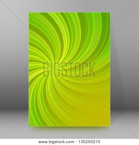 Brochure Cover Template Vertical Format Glowing Background35