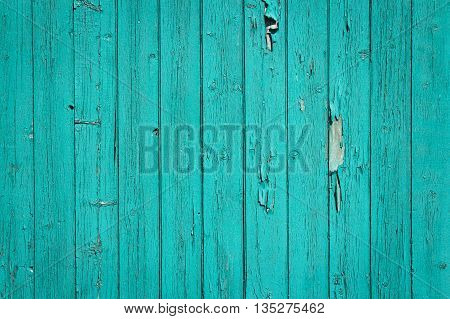 turquoise old grunge wall wood background texture