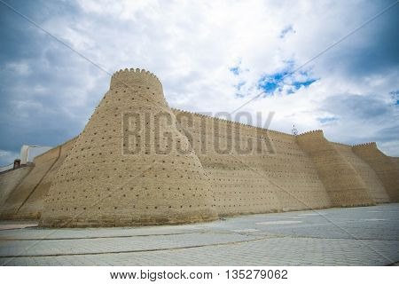 The Ark fortress of ancien Bukhara, Uzbekistan