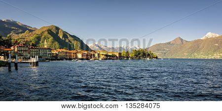 Menaggio Lago di Como (Lake Como) at daylight