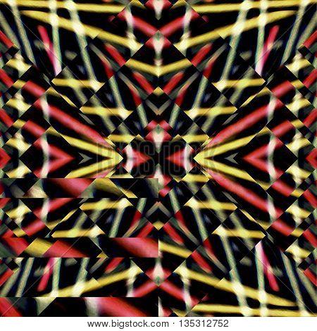Multicolroed Geometric Pattern
