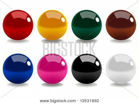 Snooker Balls