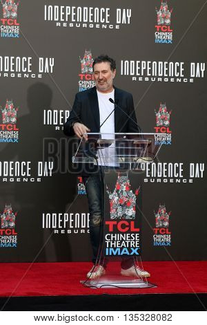 LOS ANGELES - JUN 20:  Harald Kloser at the Roland Emmerich Hand And Footprint Ceremony at the TCL Chinese Theater IMAX on June 20, 2016 in Los Angeles, CA