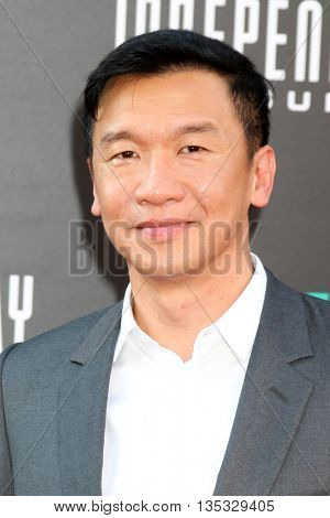 LOS ANGELES - JUN 20:  Chin Han at the Independence Day: Resurgence LA Premiere at the TCL Chinese Theater IMAX on June 20, 2016 in Los Angeles, CA
