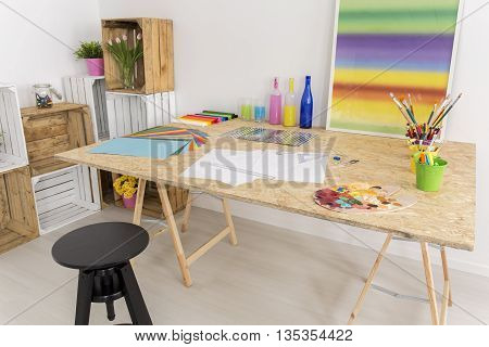White Room For Arts And Crafts