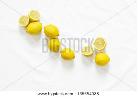 of lemon juice that can be done. lemons arranged beautifully. an image of lemons