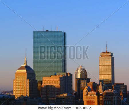 Sunrise Over Boston V