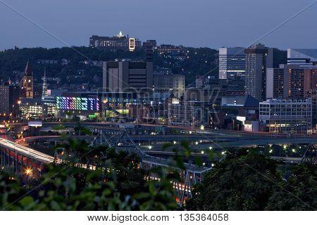 Cincinnati, Ohio from Covington, Kentucky