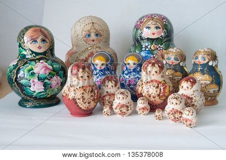Family Russian Dolls