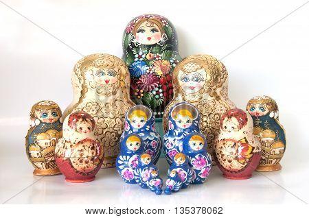 Family Of Matryoshka Doll ,gife From Russia