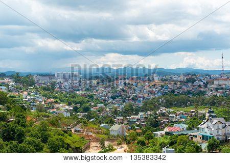 Dalat City View, Vietnam