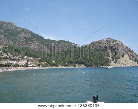 Travel in Marmaris, Turkey on the Aegean Sea