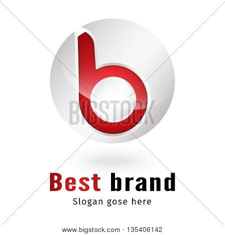 b 3d letter logo design 100% vector re editable and re sizable this will suitable for which letter starting with b