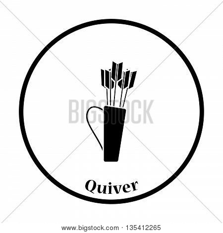Quiver With Arrows Icon