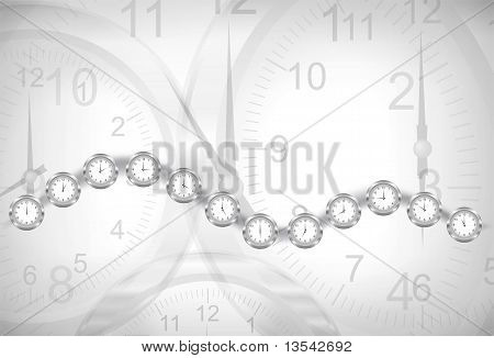 Clocks Background