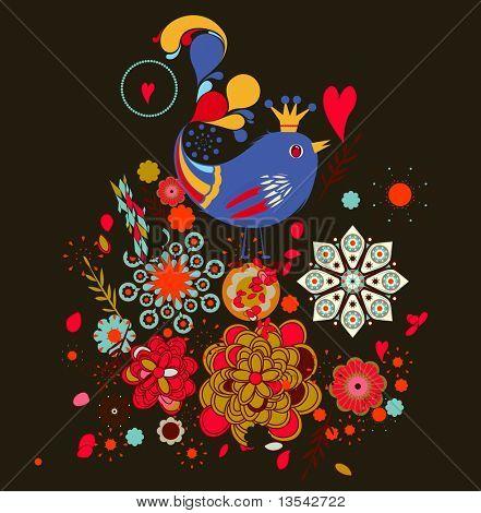 xmas-birds poster