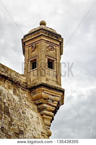 Eye and Ear Vedette watchtower, Senglea, Malta
