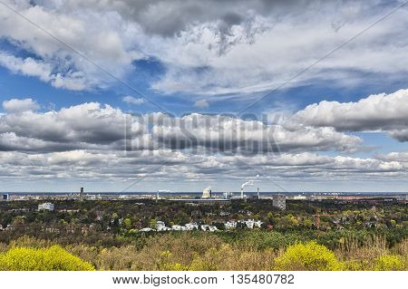 Panorama Of Berlin, Seen From The Teufelsberg