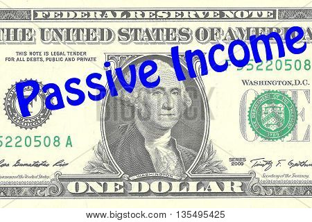 Passive Income Business Concept