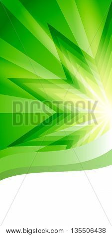 Presentation Design Vertical Banner Flyer Layout Background2