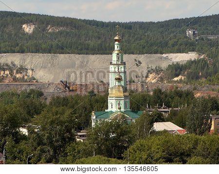 Holy Trinity Cathedral. Nizhny Tagil. Sverdlovsk region. Russia.