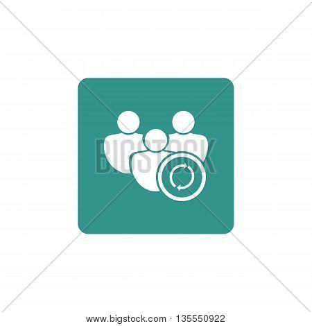 User Refresh Icon In Vector Format. Premium Quality User Refresh Symbol. Web Graphic User Refresh Si