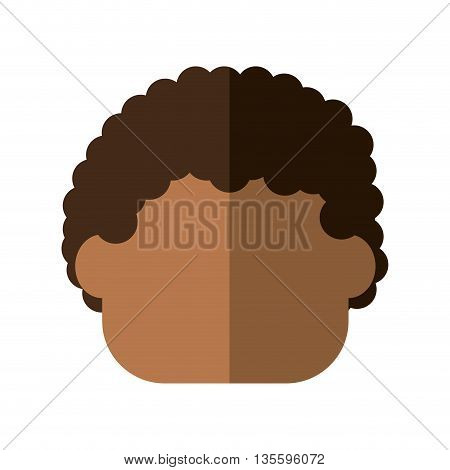Kid and chilhood represented by little boy over isolated and flat background