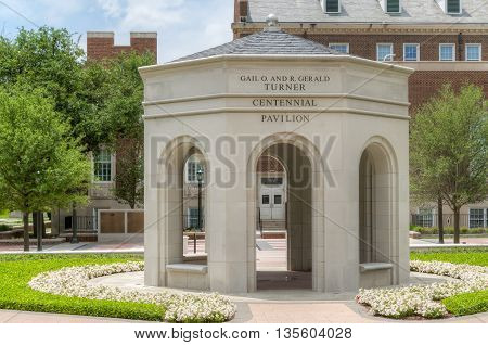Gail O. And Gerald Turner Centennial Pavilion On The Campus Of Southern Methodist University