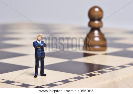 Businessman Pawn