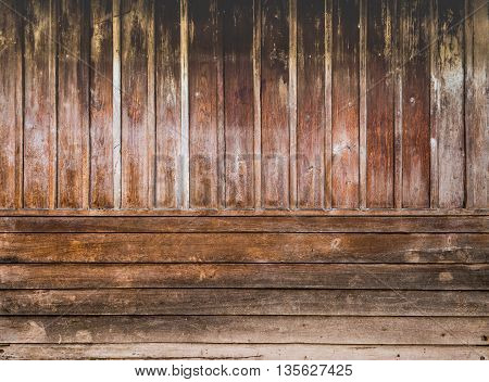 Image Of Old Wooden Wall Background Texture